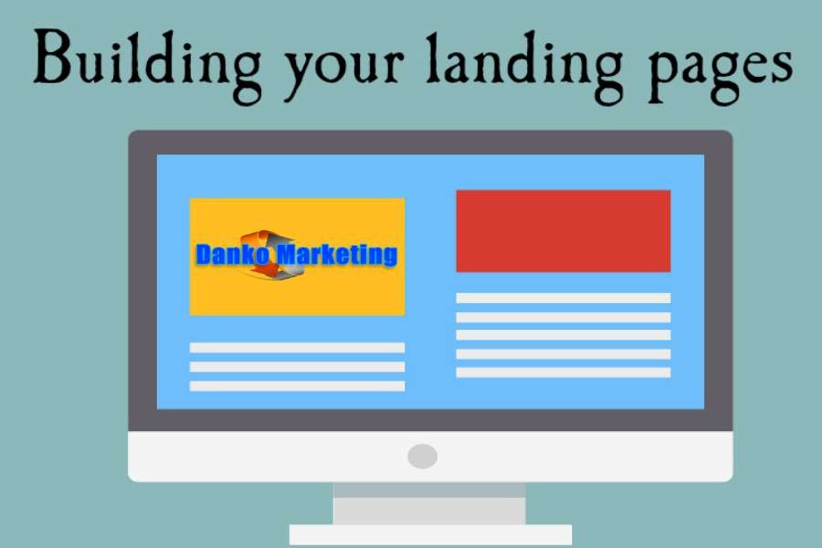 Building-your-landing-pages