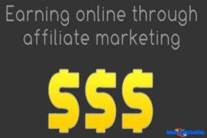 Earning-online-through-affiliate-marketing