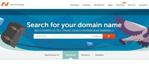 Namecheap-Homepage