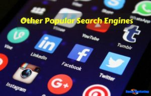 Popular-Search-Engines