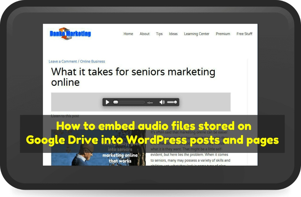 embed-audio-files-into-wordpress-from-google-drive