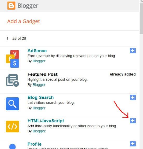 blogger-html-javascript-gadget