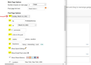 blogger-main-page-options