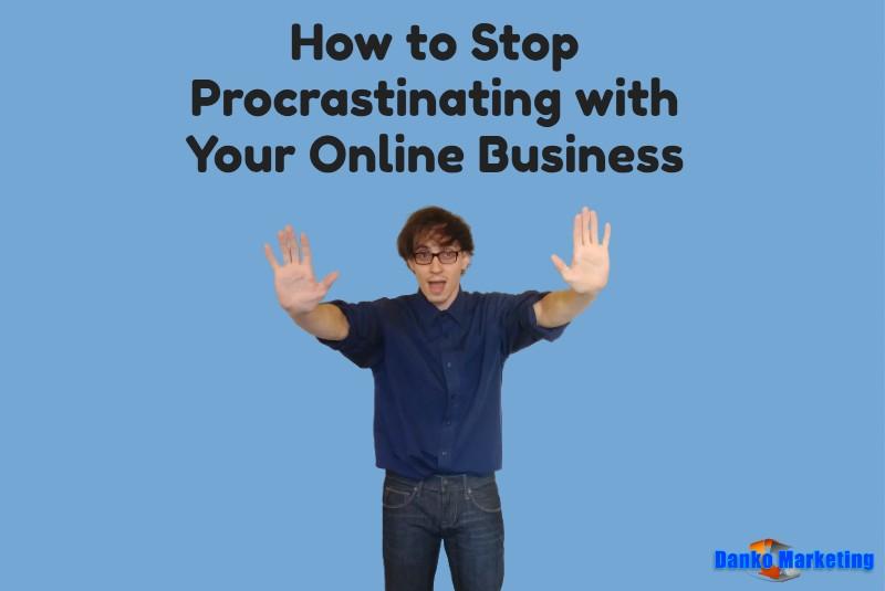 procrastinating-online