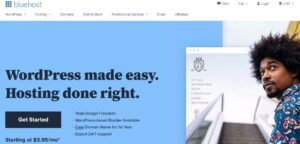 web-hosting-with-new-domain-name-bluehost